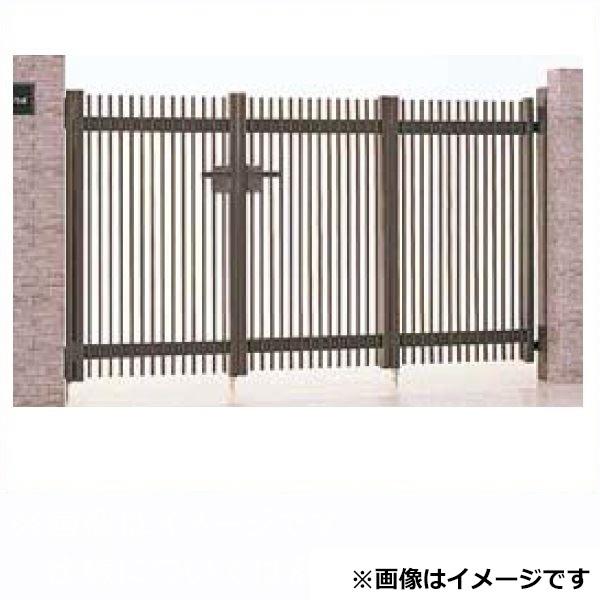 リクシル TOEX ハイ千峰(せんぽう) 3枚折戸(キャスターなし) 10-10 『アルミ門扉』
