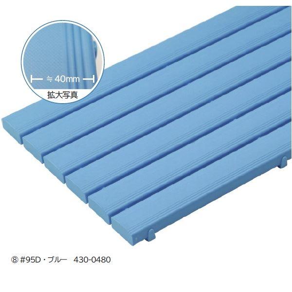 ミヅシマ工業 ストレートスノコ 本体 #105D ・ キャップ付 600×1056×49mm 1ケース(3枚入)