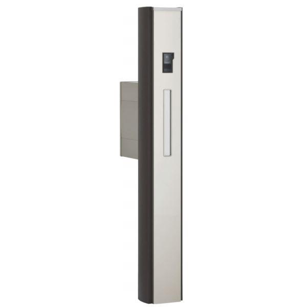 四国化成 ファミーユ門柱1型 1世帯用 本体 宅配ボックス無 インターホン取付用 『インターホンは別途』 FMP1-A16N