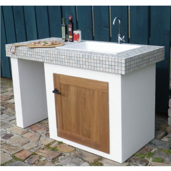 テック堂(マリーンテック) ガーデンシンク 組み合わせ例C *蛇口・水栓金具・目皿・給排水管は別売りです