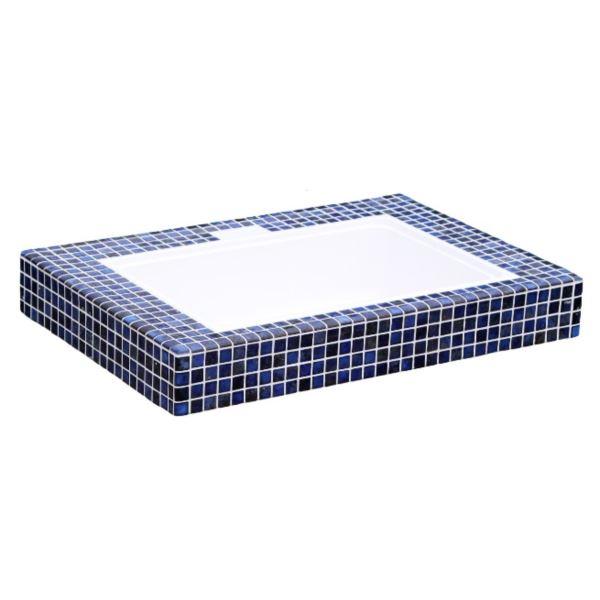 テック堂(マリーンテック) ガーデンシンク シンク天板800 ブルー ブルー