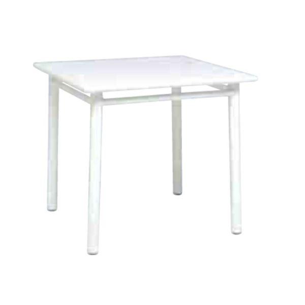 ニチエス MAIORI マイオリ NC テーブル90×90 / ホワイト  ホワイト