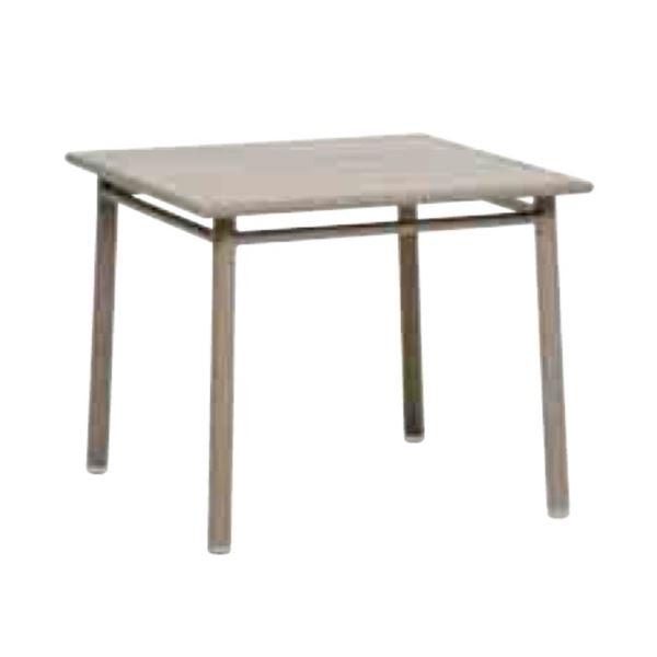 ニチエス MAIORI マイオリ NC テーブル90×90 / ライトトープ  ライトトープ