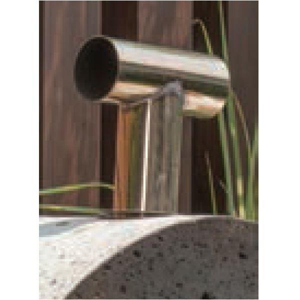 オンリーワン 大谷石ピザ窯 ライト用 ステンレス煙突 GM3-PK3-S 黄