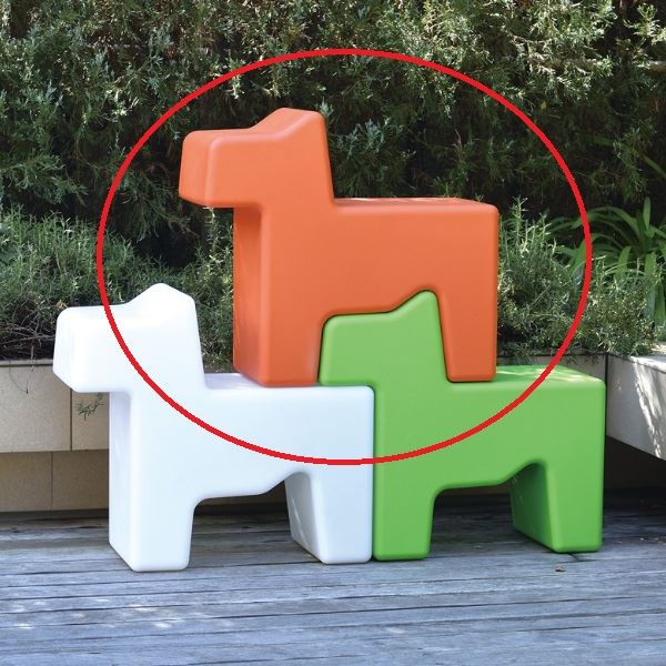 オンリーワン DOGS ドッグス #FL3-DOGOR オレンジ オレンジ