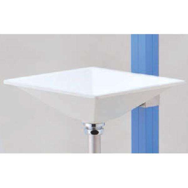 オンリーワン アクアルージュ用手洗器 プレーンパン カレ TK3-E-WG  *立水栓は別途