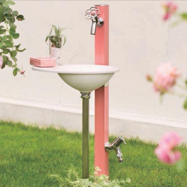 オンリーワン アクアルージュ用 プレーンパン エッグセット 『水栓柱+ハンドル+カラービス+プレーンパン』