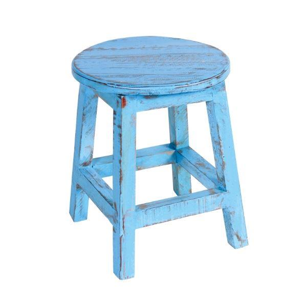 東洋石創 スツール&チェアー スツール 丸 #40676 ブルー