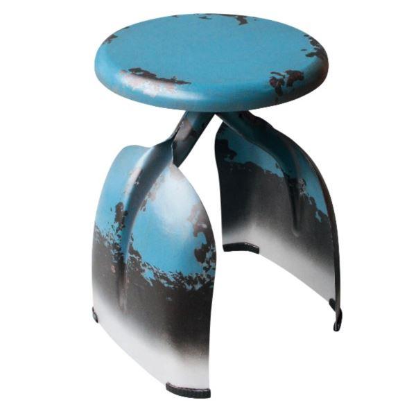 東洋石創 テーブル&チェアー チェアー #81427 ブルー