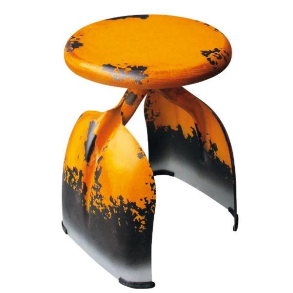 東洋石創 テーブル&チェアー チェアー #81428 イエロー