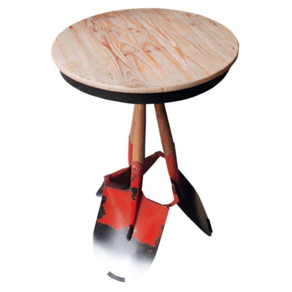 東洋石創 テーブル&チェアー テーブル #81415 オレンジ