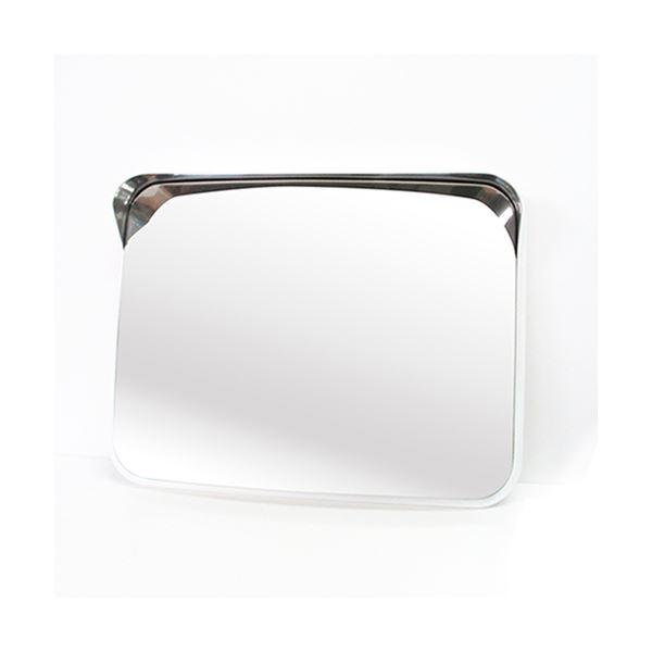 信栄物産 ステンレスミラー 角型 375×485  #S-5W  白 白