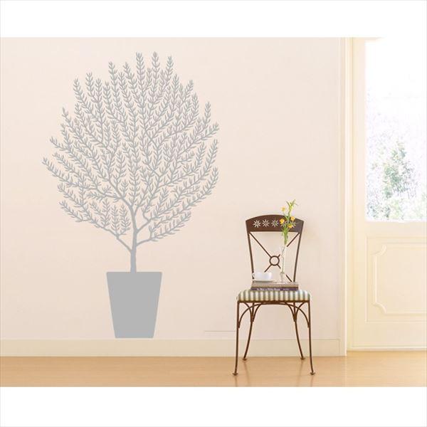 東京ステッカー 高級ウォールステッカー 植物 オリーブ Mサイズ *TS0001-EM グレー 『おしゃれ かわいい』 『壁 シール』