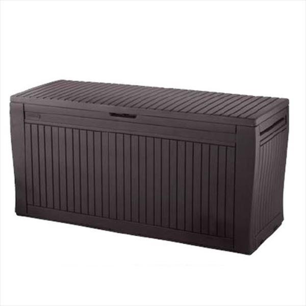 メイク ウッド調収納庫BOX KE-KF コンフィ *個人宅様は配達不可商品  『おしゃれ 物置小屋 屋外 DIY』