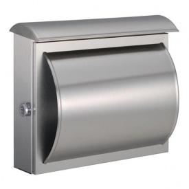 送料無料 オンリーワン ドイツの熟練マイスターが生み出す洗練されたモダンなフォルム ハイビポスト モダンタイプ 別倉庫からの配送 MA1-64234072 NEW ARRIVAL 郵便ポスト モダンポストA ステンレス艶消し
