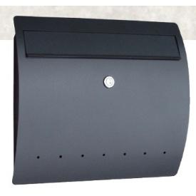 激安通販 ブラック:エクステリアのキロ支店 オンリーワン ゼラフィーニ メールボックス ライン SG1-460BK 『郵便ポスト』-エクステリア・ガーデンファニチャー