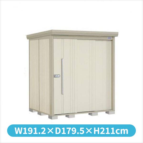タクボ物置 ND/ストックマン ND-S1815 多雪型 標準屋根 『追加金額で工事も可能』 『屋外用中型・大型物置』 ムーンホワイト