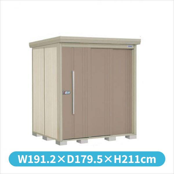 タクボ物置 ND/ストックマン ND-S1815 多雪型 標準屋根 『追加金額で工事も可能』 『屋外用中型・大型物置』 カーボンブラウン