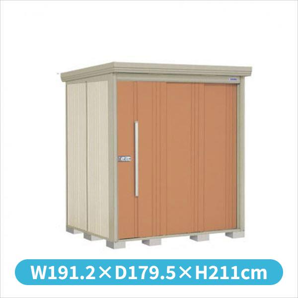タクボ物置 ND/ストックマン ND-S1815 多雪型 標準屋根 『追加金額で工事も可能』 『屋外用中型・大型物置』 トロピカルオレンジ