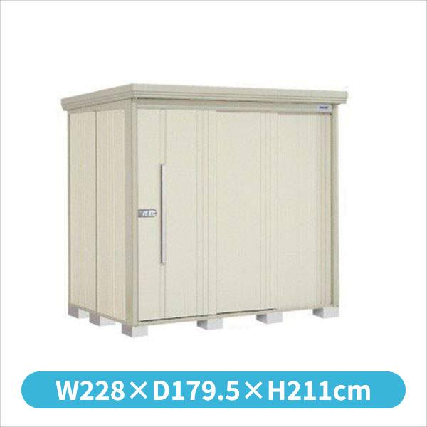 タクボ物置 ND/ストックマン ND-2215 一般型 標準屋根 『追加金額で工事可能』 『収納庫 倉庫 屋外 中型 大型』 ムーンホワイト