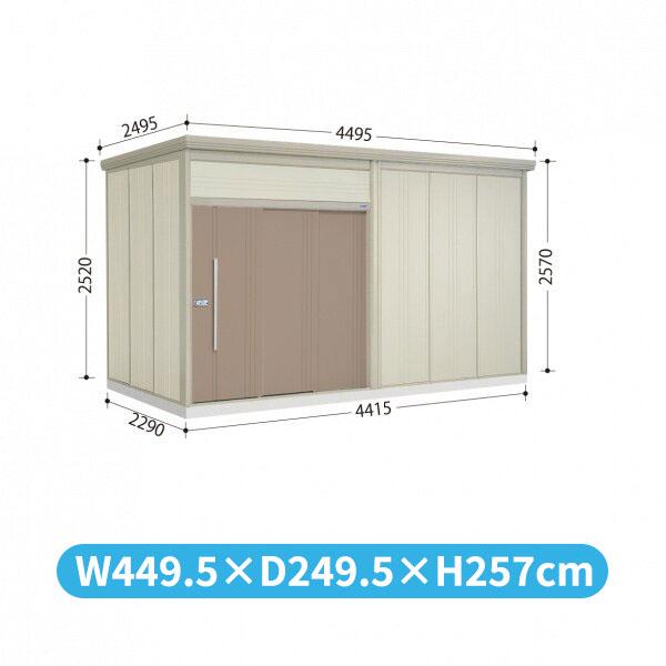タクボ物置 JN/トールマン JN-Z4422 一般型 結露減少屋根  『屋外用中型・大型物置』 カーボンブラウン