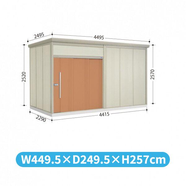 タクボ物置 JN/トールマン JN-S4422 多雪型 標準屋根  『屋外用中型・大型物置』 トロピカルオレンジ