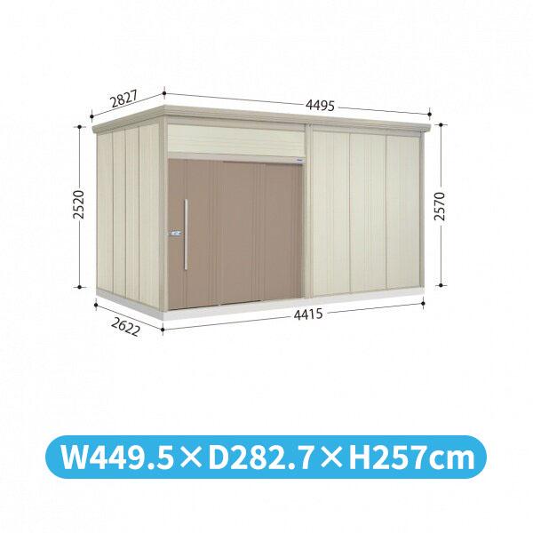 タクボ物置 JN/トールマン JN-4426 一般型 標準屋根  『屋外用中型・大型物置』 カーボンブラウン