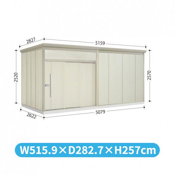 タクボ物置 JN/トールマン JN-S5026 多雪型 標準屋根  『屋外用中型・大型物置』 ムーンホワイト