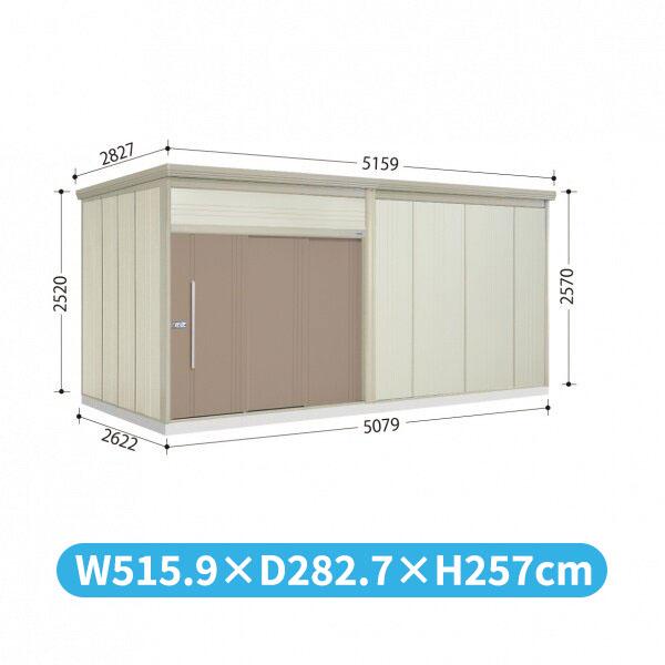 タクボ物置 JN/トールマン JN-S5026 多雪型 標準屋根  『屋外用中型・大型物置』 カーボンブラウン