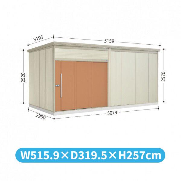 タクボ物置 JN/トールマン JN-S5029 多雪型 標準屋根  『屋外用中型・大型物置』 トロピカルオレンジ
