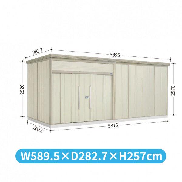 タクボ物置 JN/トールマン JN-S5826 多雪型 標準屋根  『屋外用中型・大型物置』 ムーンホワイト