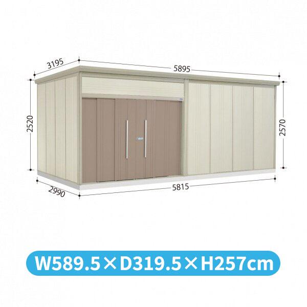 タクボ物置 JN/トールマン JN-5829 一般型 標準屋根  『屋外用中型・大型物置』 カーボンブラウン