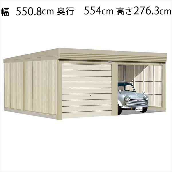 送料無料 35%OFF タクボ物置 静かで丈夫 安心のオーバースライド扉 タクボガレージ ベルフォーマ 2台用 標準型 シャッター車庫 一般型 格安店 ガレージ SM-5453