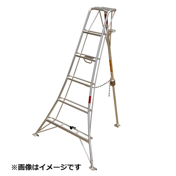 ナガノ アルミ三脚 NS型支柱スライド式 傾斜地用 NS-6 『アルミ三脚』