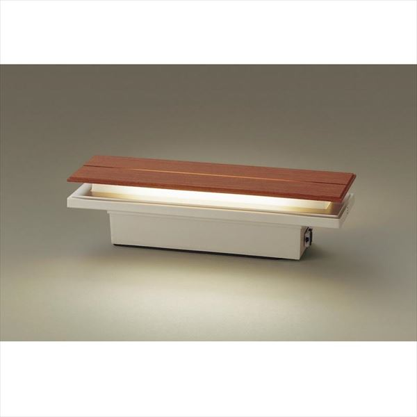 パナソニック LED門柱灯 LGWJ50128LE1(100V) 明るさセンサ付き 『エクステリア照明 ライト』 ブラウン木調