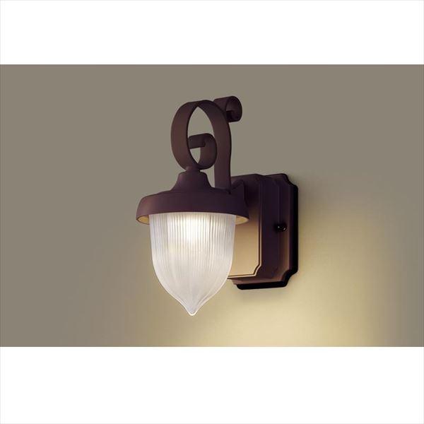 パナソニック LEDブラケット・デザインシリーズ LGW80235LE1(100V) 『エクステリア照明 ライト』 ダークブラウンメタリック