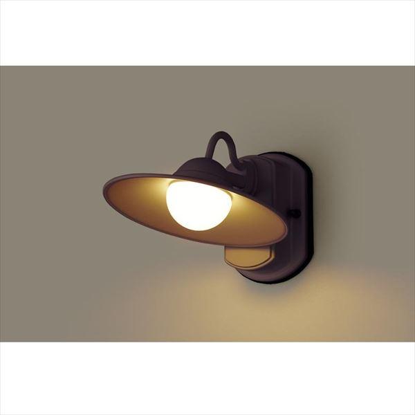 パナソニック LEDブラケット・デザインシリーズ LGW80245LE1(100V) 『エクステリア照明 ライト』 ダークブラウンメタリック