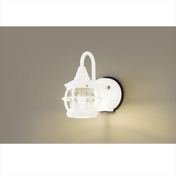 パナソニック LEDブラケット・デザインシリーズ センサあり・点灯省エネ型 LGWC85218K(100V) 『エクステリア照明 ライト』 ホワイト