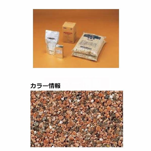 四国化成 リンクストーンM 3m2(平米)セット品 LS30-UM674 『外構DIY部品』 赤みかげ