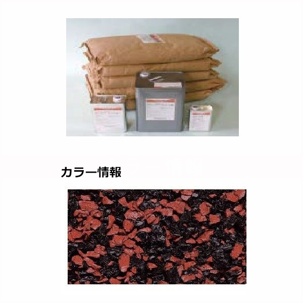 四国化成 チップロードソフト CPRS150-63 15m2(平米)セット 鏝塗タイプ 混色 『外構DIY部品』