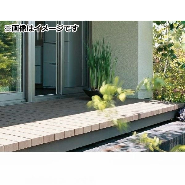 タカショー エバーエコウッド2 グランデ デッキセット 2間×4尺 『施工・メンテナンス性が魅力!』 『ウッドデッキ 材料』