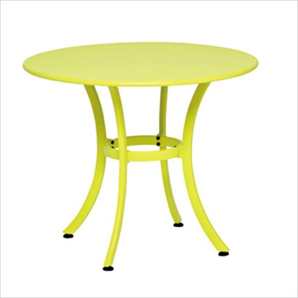 テラモト ガーデンテーブル900 パラソル穴無しタイプ #MZ-594-009
