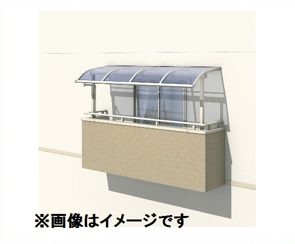 三協アルミ レボリューA 3.5間×7尺 600タイプ/関東間/2階用R型/出幅移動収まり/2連結 ポリカーボネート 『テラス屋根』