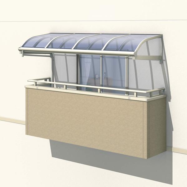 三協アルミ レボリューZ 0.5間×2尺 1500タイプ/メーターモジュール/1・2・3階用R型/柱なし式/単体 *雨トイは3m×2本を手配します 『テラス屋根』 熱線遮断ポリカ