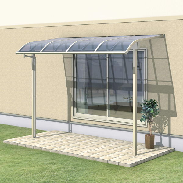 三協アルミ レボリューZ 2.5間×6尺 3000タイプ/関東間/1階用R型/出幅移動収まり/2連結  『テラス屋根』 ポリカーボネート