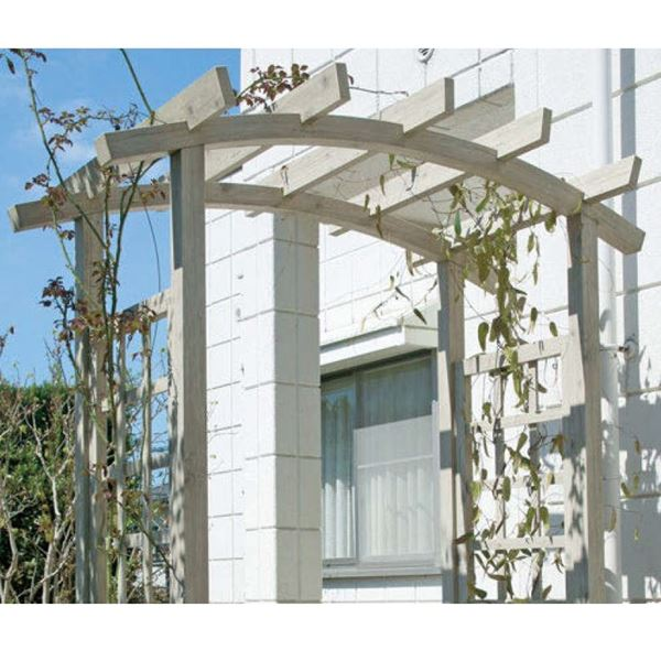 タカショー ガーデンパーゴラ ダブルアールパーゴラ GPA-CR8 クラシックグリーン