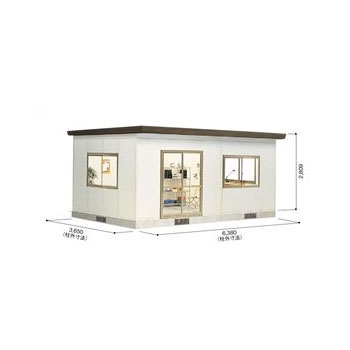 ヨドハウス YHF-3520 ダークブラウン