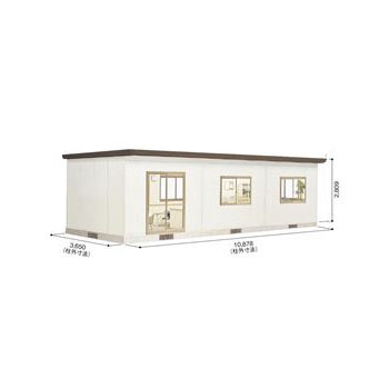 ヨドハウス YHF-6020 ダークブラウン