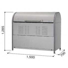 ヨドコウ ダストピット ヨドコウ DPNC-850 ダストピット 『ゴミ袋(45L)集積目安 19袋、世帯数目安 10世帯』 『追加金額で工事も可能』 10世帯』 『ダストボックス ゴミステーション 屋外』, JOY-SHOP:56054c0d --- reifengumi.hu