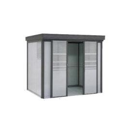 ヨドコウ ダストピット DPFS-2519 35世帯用 (受注生産商品) 『ゴミ収集庫』『ダストボックス ゴミステーション 屋外』